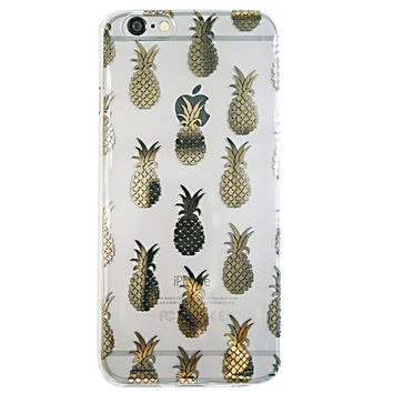 Gold Pineapple iPhone 6 Case