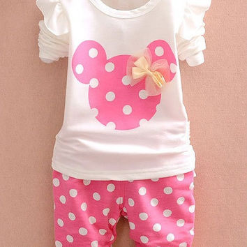 2pc Pink Minnie
