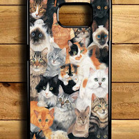 Cat Samsung Galaxy S6 Edge Case