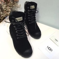 UGG Women Casual Low Heeled Shoes Boots-7