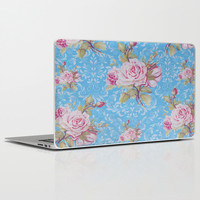 Blue Romance Laptop & iPad Skin by Ilola