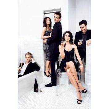 Sale! How I Met Your Mother Poster Cast 24inx36in