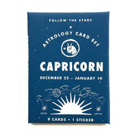 Capricorn Astrology Card Pack