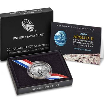 2019-S Apollo 11 50th Anniversary Proof Half Dollar