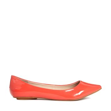London Rebel Tandy Flat Pointed Shoes