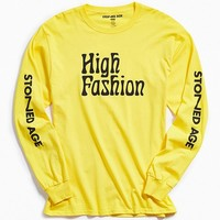 Stoned Age High Fashion Long Sleeve Tee | Urban Outfitters