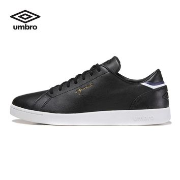 Umbro 2016  Men Board Shoes Lace-Up Round Toe Flats Shoes White Korean Shoes  Ucb90601