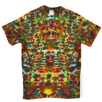 Earth Crackle Tie Dye T Shirt on Sale for $16.95 at HippieShop.com