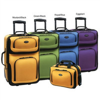 2 Piece Expandable Carry-On Luggage Set