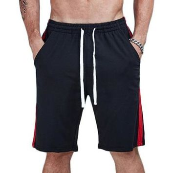 Casual Jogger Loose Double Striped Shorts