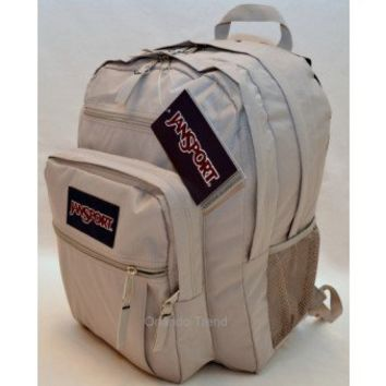 Jansport Big Student Backpack in Gunsmoke Gray