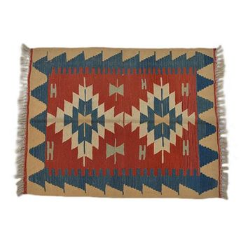 "Turkish Kilim Turkish 2' 10"" X 3' 9"" Handmade Rug"