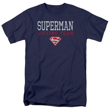 Superman - Lifting Team Short Sleeve Adult 18/1