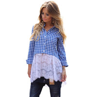 Women Casual Plaid Shirt