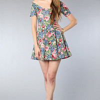 The Now or Never Dress in Floral Multi : RVCA : Karmaloop
