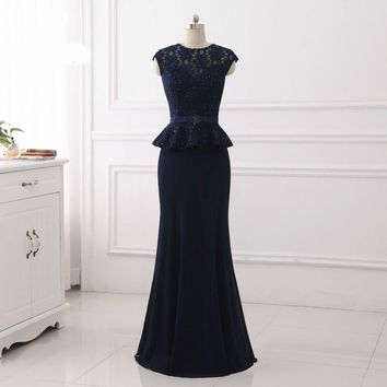 sleeveless lace Evening Dress elegant  Prom dress