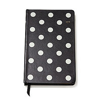 kate spade new york 12-Month Deco Dots Agenda - Black Deco Dots