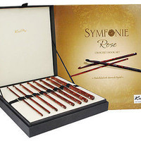Knitters Pride Knit Pro Symfonie Rose Deluxe Crochet Hook Set