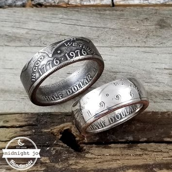 1971-2017 Kennedy Half Dollar Coin Ring