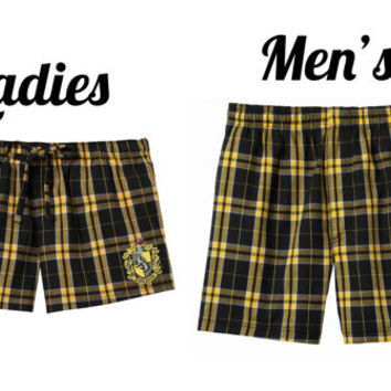 Hogwarts House Flannel Shorts