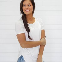 The Ultimate Casual Tee - Ivory