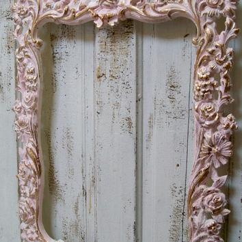 Shop Large Shabby Chic Frames On Wanelo