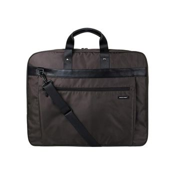 Lightweight Black Nylon Garment Bag With Handle