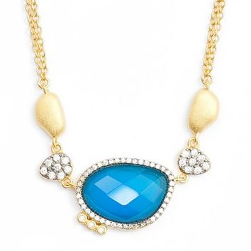 Freida Rothman Baroque Blues Pendant Necklace | Nordstrom