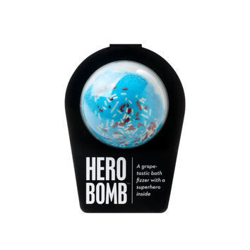 THE HERO BOMB, Bath Bomb, Bath Fizzer, Bath Fizzy, Super Hero Inside, Surprise Inside, Bath and Body