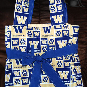 UWUniversity of Washington BeltedTie by KraftyKreations4You