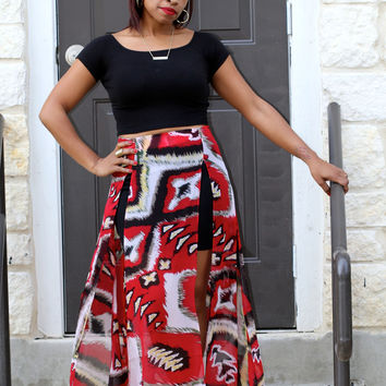 Tribal Girl Skirt