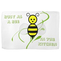 As Busy As A Bee Hand Towel