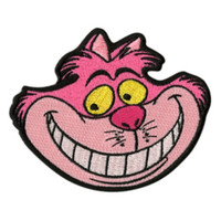 Disney Alice In Wonderland Cheshire Cat Iron-On Patch
