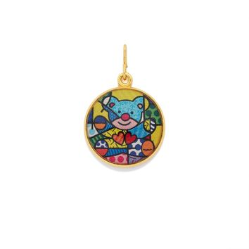 Friendship Bear Art Infusion Necklace Charm