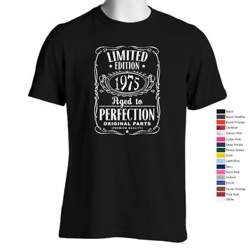 Vintage Aged To Perfection 1975 T-Shirt (We Can Customize Year to Whatever You Need)
