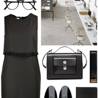 la minimaliste power look
