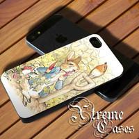 Beatrix Potter Peter Rabbit for iPhone 5/5s, iPhone 4/4s, Samsung Galaxy s3 I9300, s4 I9500