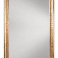 OSP Designs Savoy Rectangle Wall Mirror with Regency Gold Frame