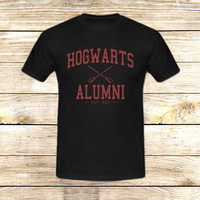 Harry Potter hogwarts alumni on T shirt