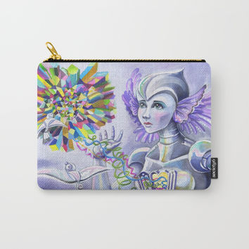 Follow Your Heart Carry-All Pouch by Christina Siravo