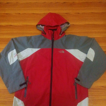 The North Face Hoodie windbreaker red, vintage