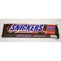 SNICKERS Holiday Slice n' Share Giant Chocolate Candy Bar 1-Pound