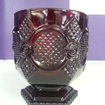 Glass - Ruby Red Cape Cod Juice Tumbler