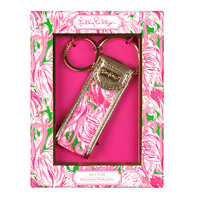 LILLY PULITZER: Key Fob - Pink Colony