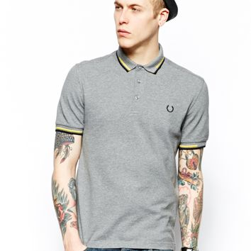 Fred Perry Laurel Wreath Polo with Broken Twin Tip