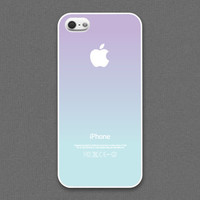 iPhone 5 / 5s Case - Pastel gradation // Lavender & light blue - iPhone5 Case, Cases for iPhone5, iPhone5s Case, Cases for iPhone5s