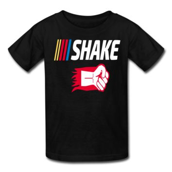 Shake and Bake Couples Kids' T-Shirt,Shake