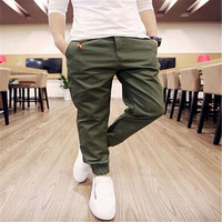 6Colors/Hot 2015 men pant sport joggers hip hop sarouel jogging casual pants brand sweatpants,trousers pantalones big size S-XXL