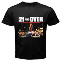 21 and over T-Shirt Size S,M, L, XL, 2XL, 3XL, 4XL and 5XL