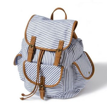 Striped Backpack  | Claire's